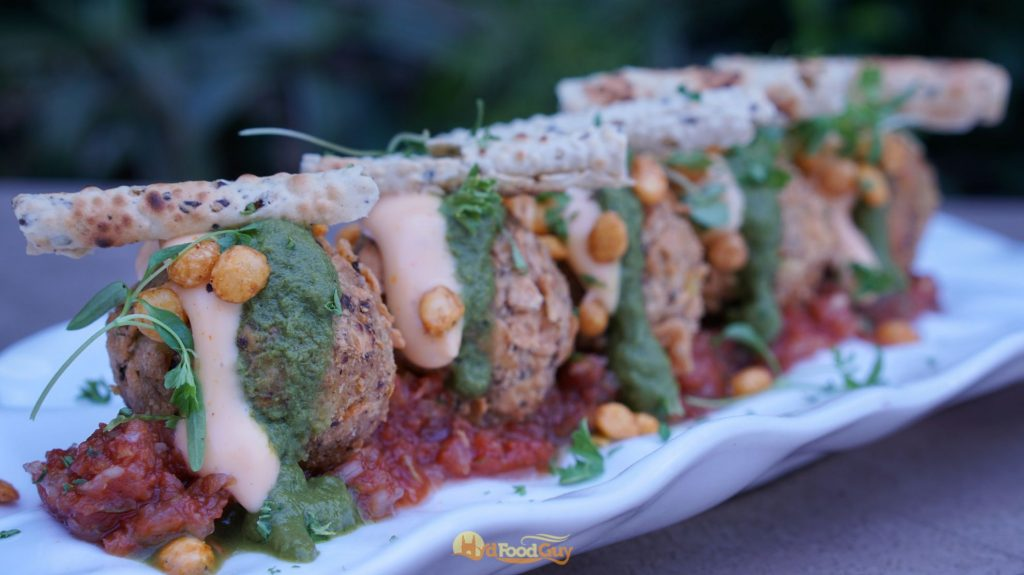 Dal Chawal Arancini - Farzi Cafe